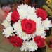 Букет Белой и Красное