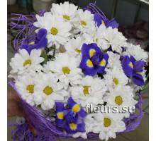 Букет Фиолетово