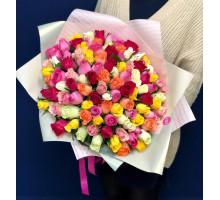 Букет из 101 розы из Кении B-Class