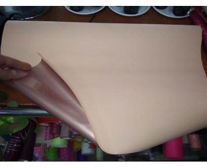 Бумага глянцевая двухсторонняя розово-бежевая