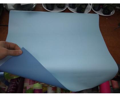 Бумага глянцевая двухсторонняя голубая