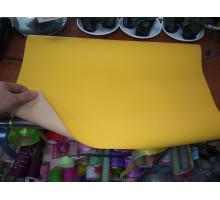 Бумага двухсторонняя глянцевая желтая