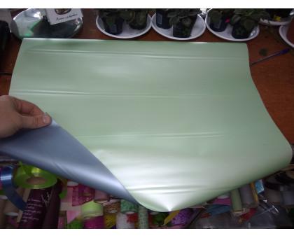 Бумага двухсторонняя глянцевая салатовый металлик