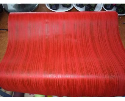 Фетр ламинированный красный полупрозрачный